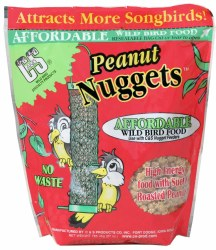 Peanut Flavored Suet Nuggets 27oz No Mess For Wild Birds