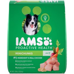 IAMS ProActive Health Chicken Minichunks Dry Dog Food 30lb