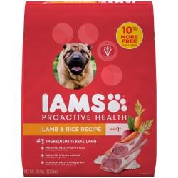 IAMS ProActive Health Adult Lamb and Rice Formula Dry Dog Food 30lb