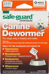 Safeguard Wormer for Dogs 1grm
