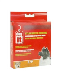 DogIt Small Nylon Dog Muzzle 5 Inch