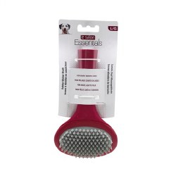 Dog Rubber Slicker Brush Large