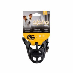 Alpha Muzzle, Black, Small