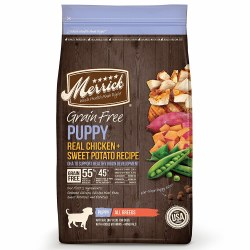 Merrick Grain Free Puppy Chicken Recipe Dry Dog Food 25lb