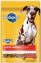 Pedigree Large Dog Nutrition Chicken Flavor Dry Dog Food 17lb