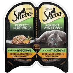 Sheba Chicken w/Veggies 2.6oz