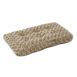 """Ombre Swirl Bed Taupe 17x11"""""""