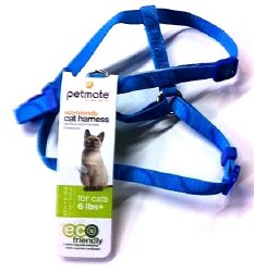 Eco Friendly Adjustable Harness Blue 8-16 Inches