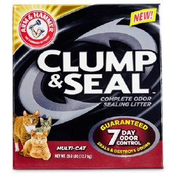 Arm & Hammer Clump And Seal Multi Cat Clumping Litter 28lbs