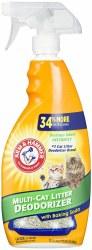 Arm & Hammer Litter Cat Litter Deodorizer 21.5 fl oz bottle