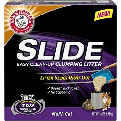 Arm & Hammer Easy Clean Up Slide Clump & Seal Multi Cat 14lb