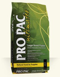 Pro Pac Ultimates Chicken Meal and Brown Rice Large Breed Puppy Dry Dog Food 28lb