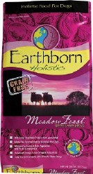 Earthborn Holistic Meadow Feast Grain Free Natural Dry Dog Food 28lb