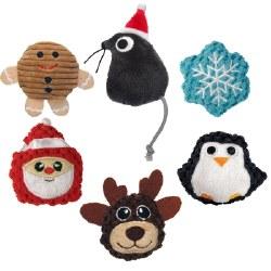 Holiday Cat Toys with Catnip