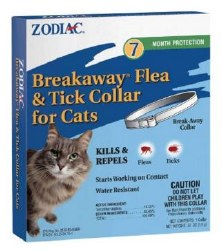 Zodiac Breakway Flea Collar 7 Month Protection