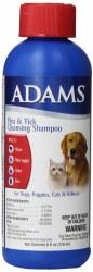 AdamsPlus Flea/TickShampoo 6oz