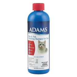 Adams Flea And Tick Cleansing Cat Shampoo With IGR 12oz