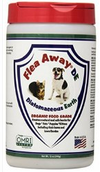 Natural Flea Away Diatomaceous Earth For Dogs And Cats 12 Ounce