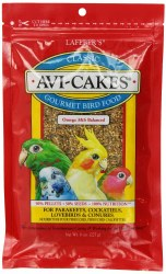 Lafeber Classic Avi-Cakes Small Bird Food 8oz bag