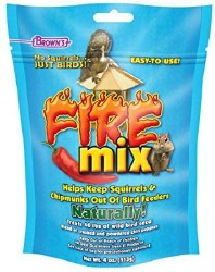 Browns Garden Chic Fire Mix No Squirrels and easy to use 4oz bag
