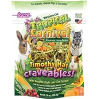 Brown's Tropical Carnival Natural Western Cut Timothy Hay Craveables Small Animal Food 24oz