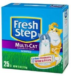 Fresh Step Multi-Cat 25 Lb