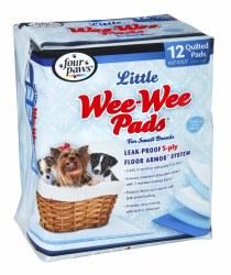 Wee Wee Pads Lil Dog 12 Pack