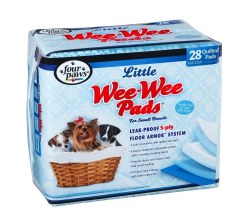 Wee Wee Pads Lil Dog 28 Count