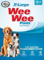 Wee Wee Pads XLarge 14 Pack