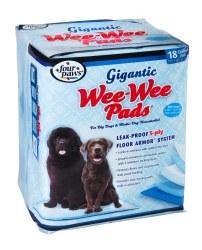 Gigantic Wee Wee Pads 18pk