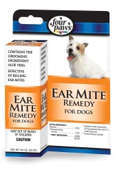 Ear Mite Remedy for Dogs 3/4oz