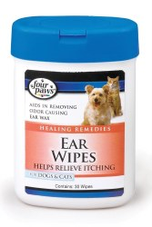 Ear Wipes Dogs/Cats 30 Count