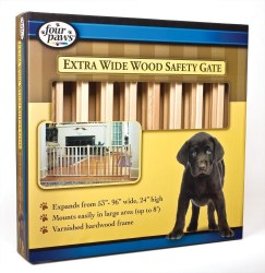 Vertical Wood Slat Gate