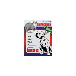 Emergency Rescue Decal 2Pk