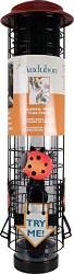 Squirrel Resistant Ladybug Design Tube Feeder