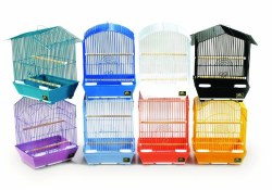 Prevue Parakeet Cage Variety of colors 9x12x15