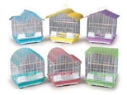 Prevue Econo Cage Keet Variety of colors 14x11x19