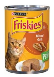 Friskies Classic Paté Mixed Grill Canned Cat Food 13oz
