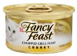 Fancy Feast Chunky Chopped Grill Feast Canned Cat Food 3oz