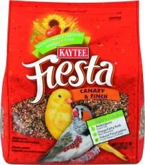 Kaytee Fiesta Variety Mix Canary & Finch Bird Food 2lb bag