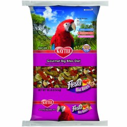 Kaytee Fiesta Variety Mix Big Bites Macaw Bird Food 10lb bag