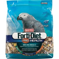 Kaytee FortiDiet Pro Health For all Parrots Bird Food 5lb