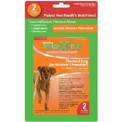 Worm X Plus Med-Lg Dogs 2 Tabs