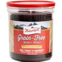 Triumph Grain Free Jerky Bites Turkey Pea & Berry Dog Treats 20oz