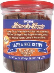 Evolve Classic Lamb & Brown Rice Recipe Dog Treats 22oz