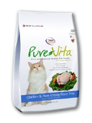 Pure Vita Grain Free Chicken Entree Dry Cat Food 15lb