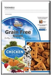 Nutrisource Crunchy Grain Free Biscuits With Fruits and Vegetables 14oz