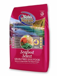 Nutrisource Grain Free Seafood Select With Salmon and Menhaden Fish Meal Protein Dry Dog Food 30lb