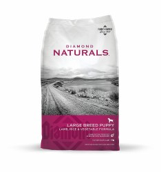 Diamond Naturals Large Breed Puppy Formula Dry Dog Food 40lb