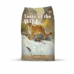 Taste of the Wild Canyon River Feline Formula with Trout & Smoked Salmon 5lb